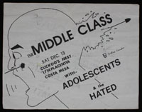 MIDDLE CLASS w/ Adolescents, Hated at Cuckoo's Nest