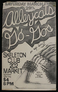ALLEY CATS w/ Go-Go's at Skeleton Club