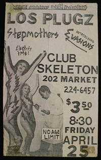 PLUGZ w/ Stepmothers, Evasions at Skeleton Club