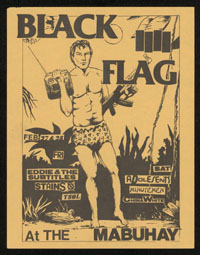 1981 ~ BLACK FLAG at Mabuhay Gardens (SF)