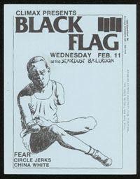 1981 ~ BLACK FLAG at Stardust Ballroom (LA)